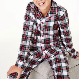 Family PJs Stewart Plaid Flannel Pajama Set